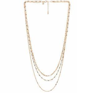 Rebecca Minkoff // Multi Strand Beaded Necklace